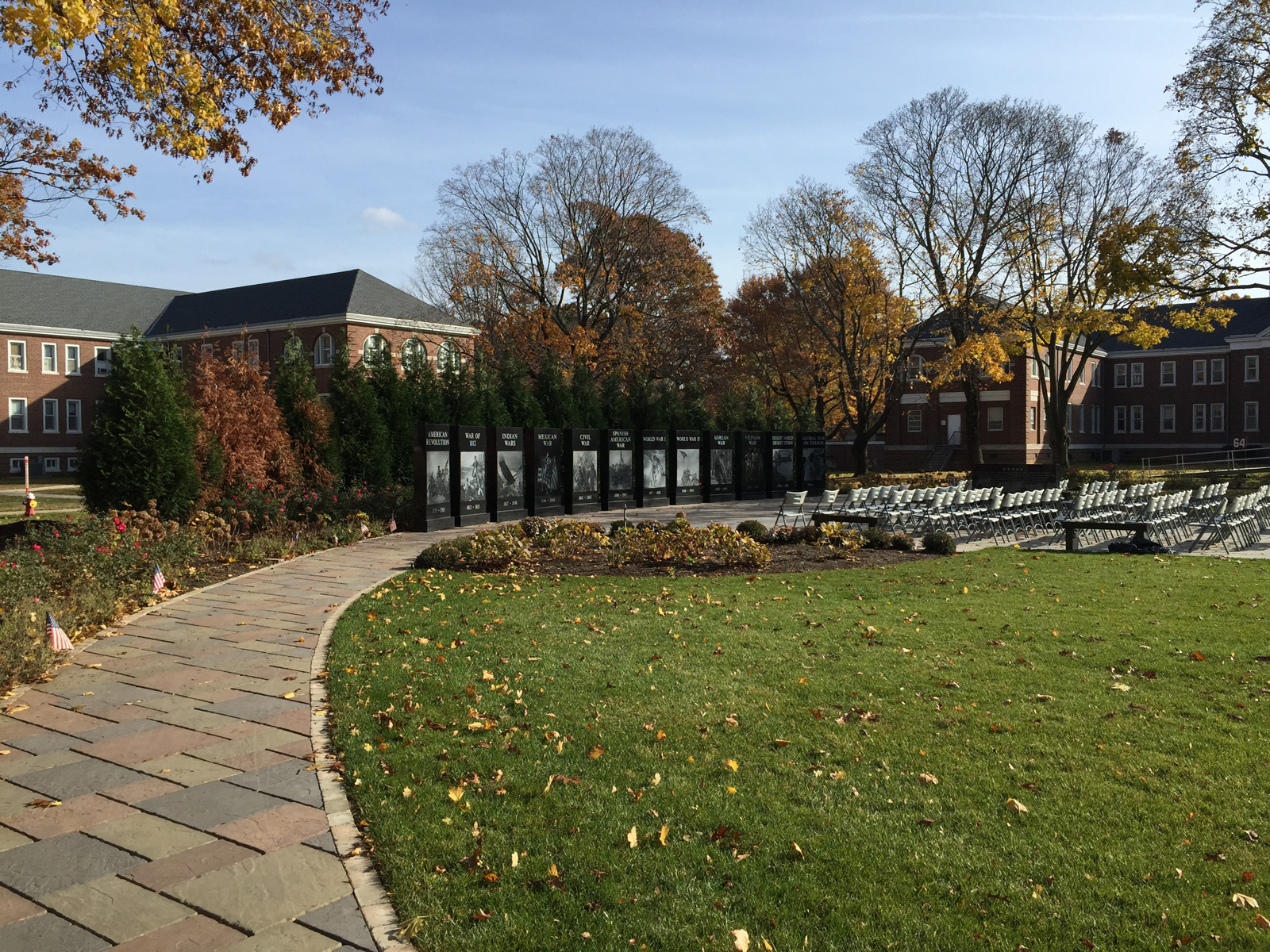 Experienced landscape design with memorial garden in Long Island, NY