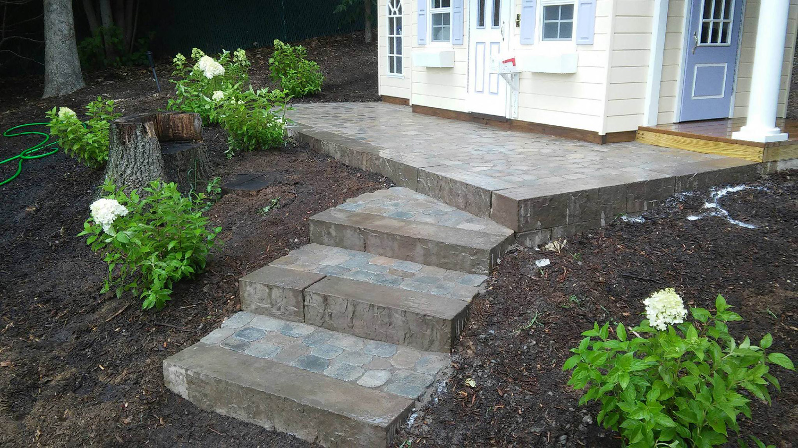 Top hardscape paver landscape design company in Long Island, NY