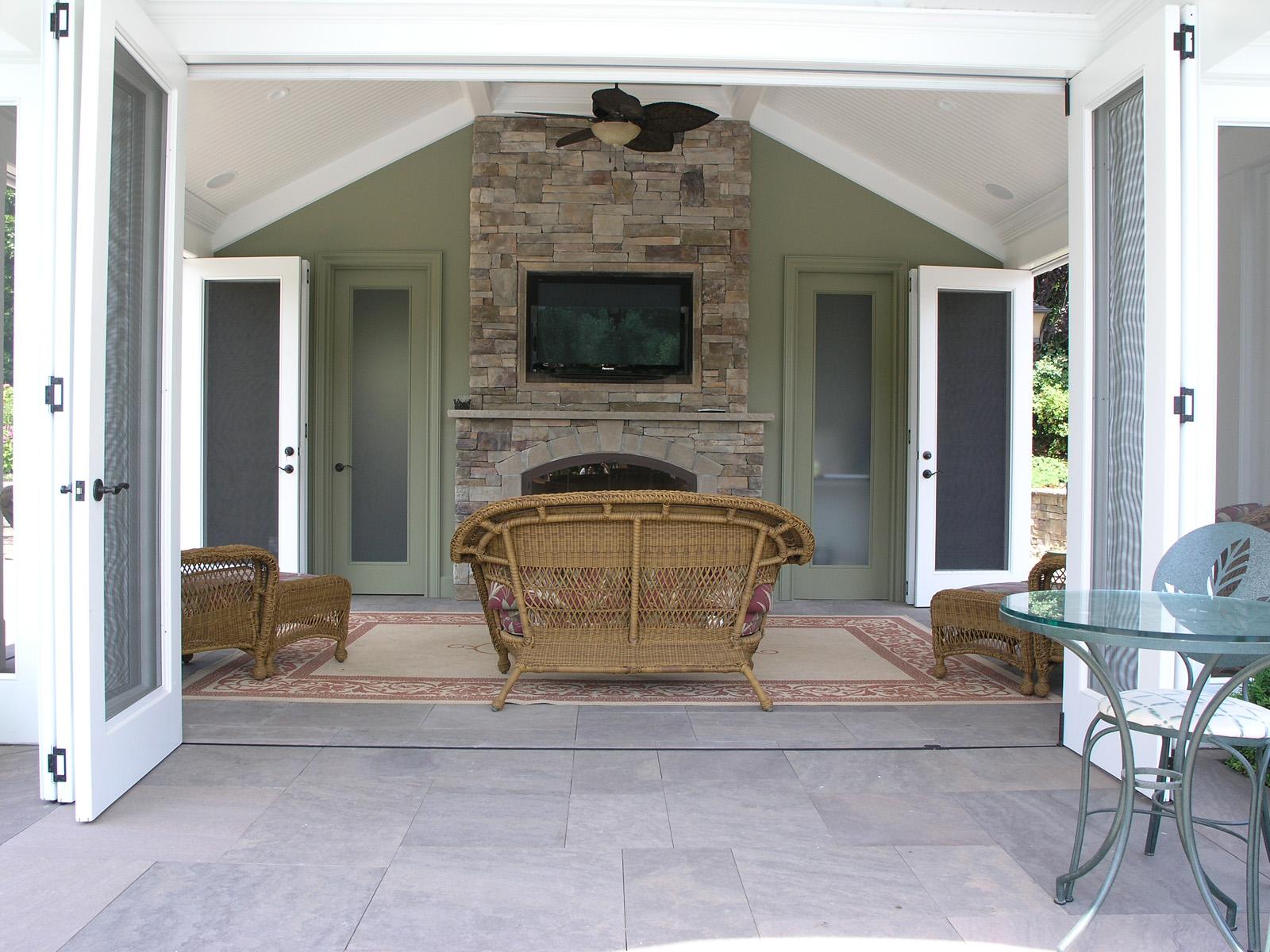 Professional pool cabana landscape design company in Long Island, NY