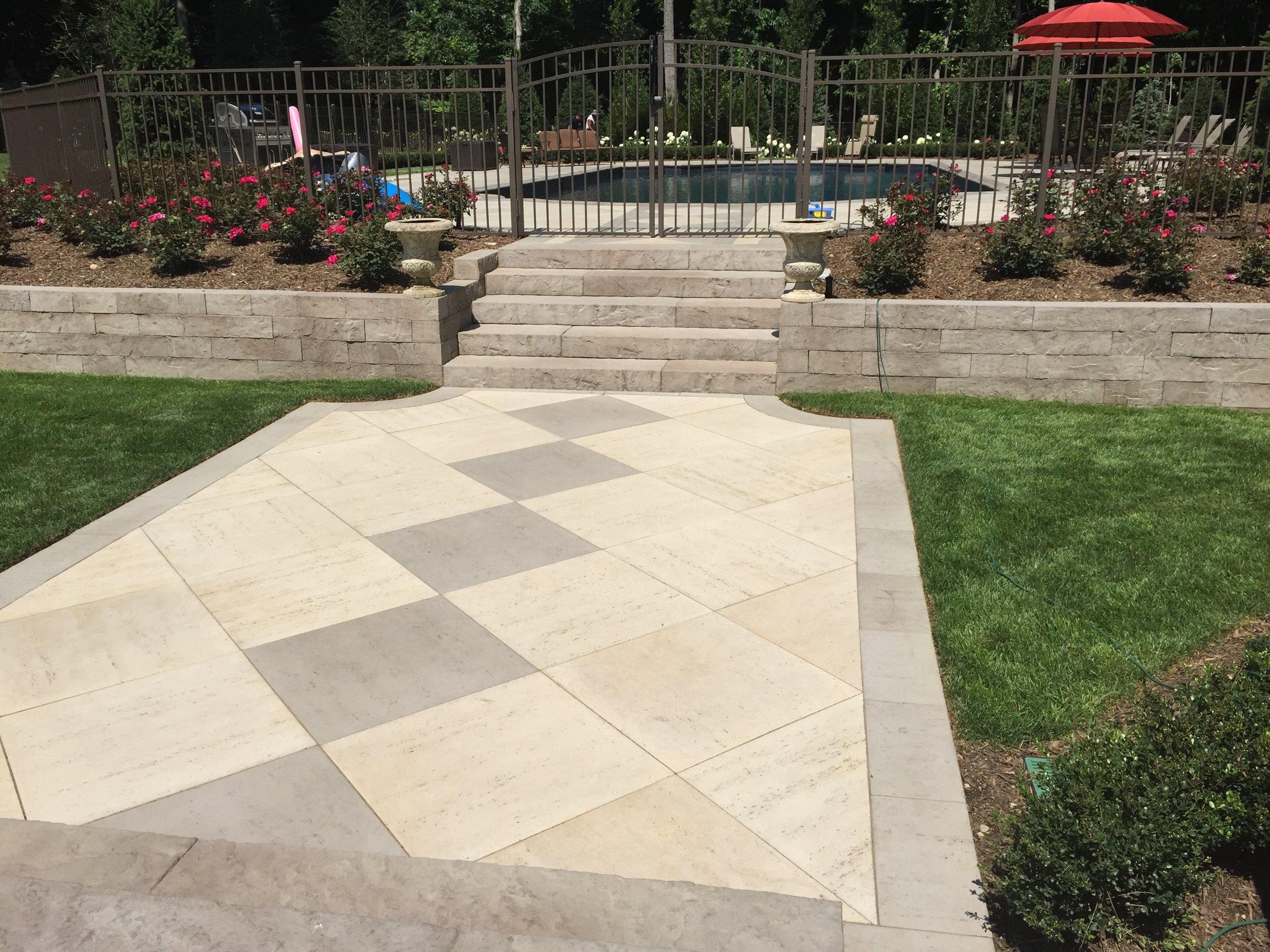 Custom walkway paver design company in Long Island, NY