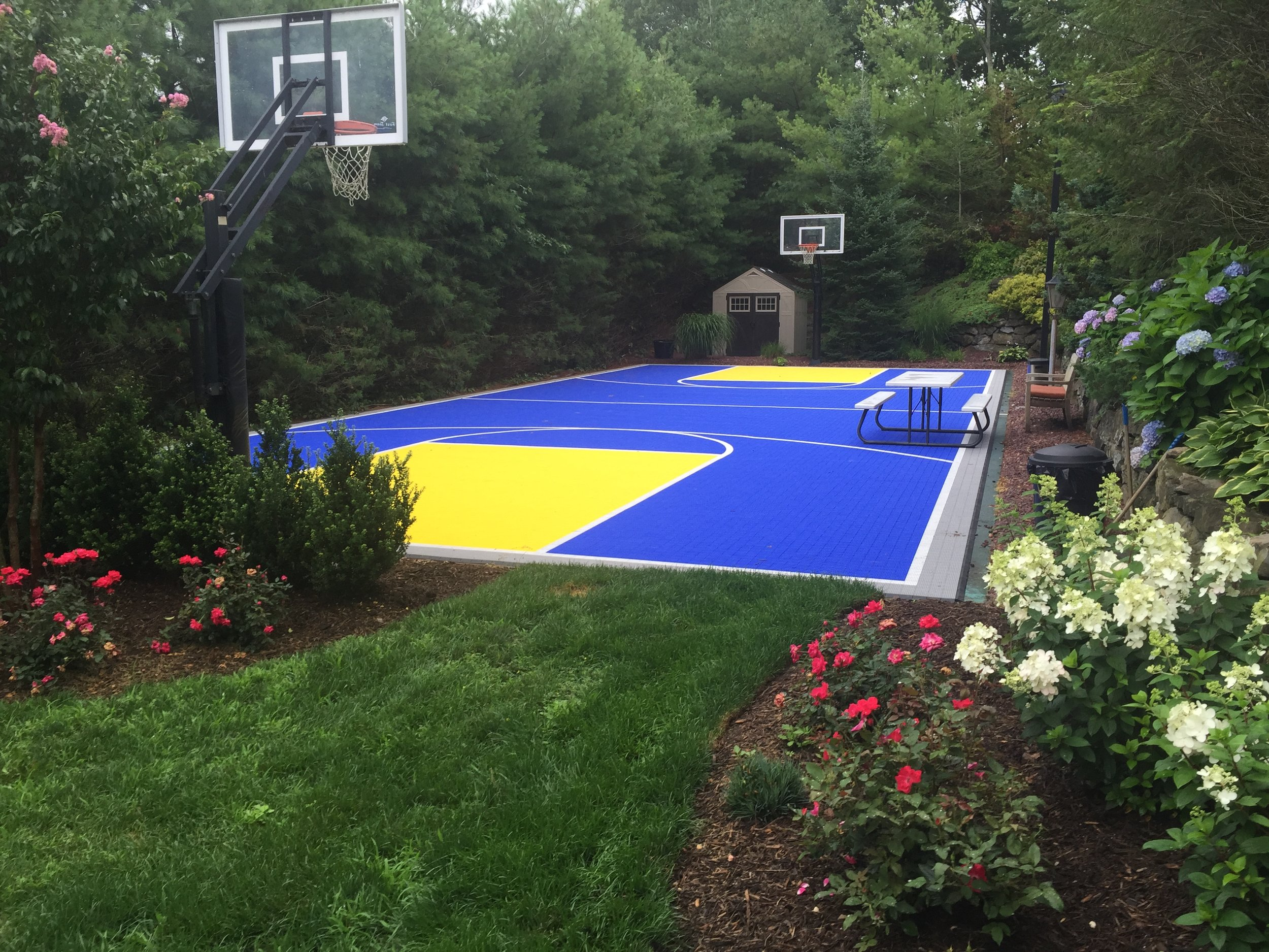 Professional basketball court design company in Long Island, NY
