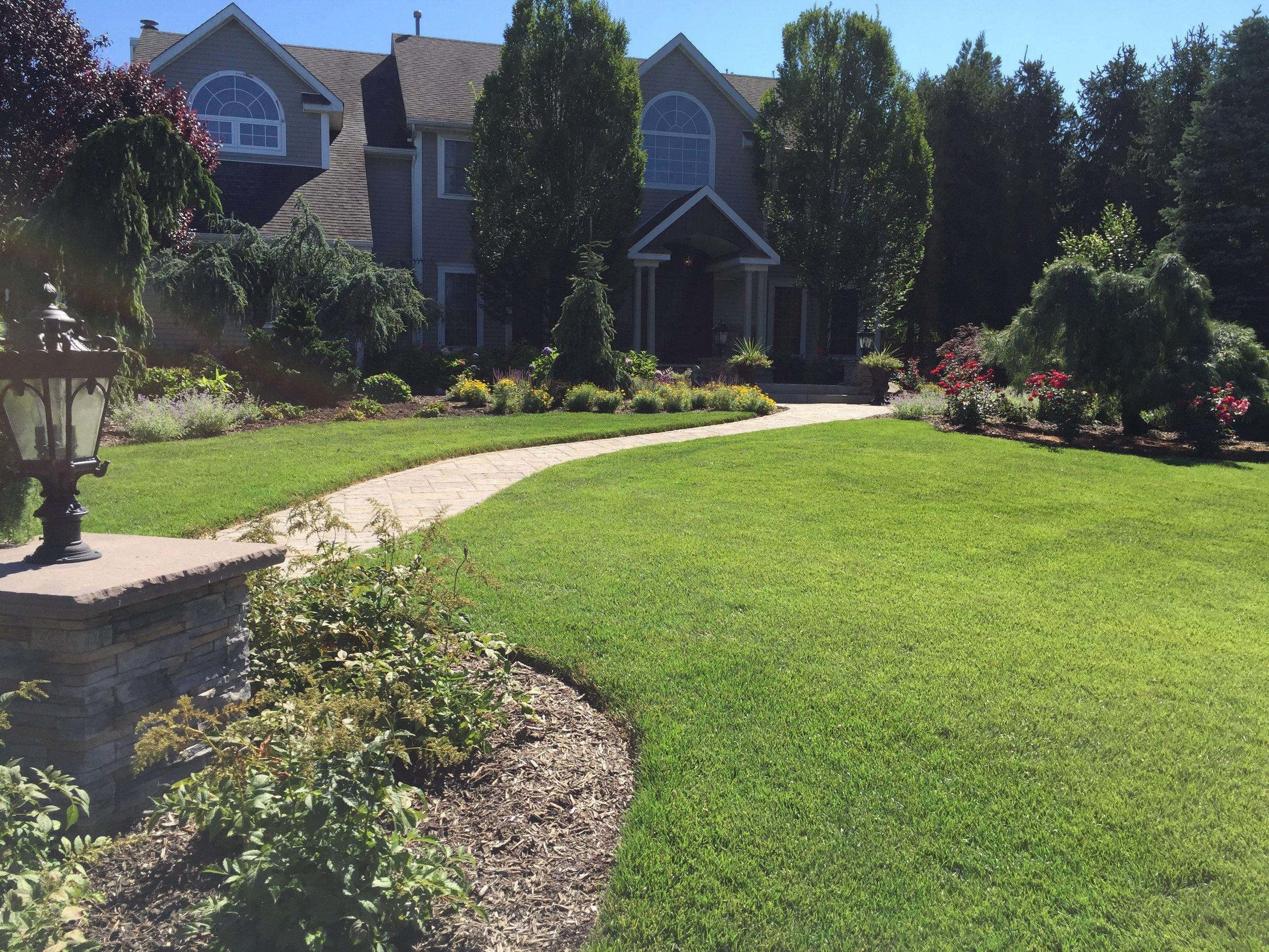Top walkway planting design company in Long Island, NY