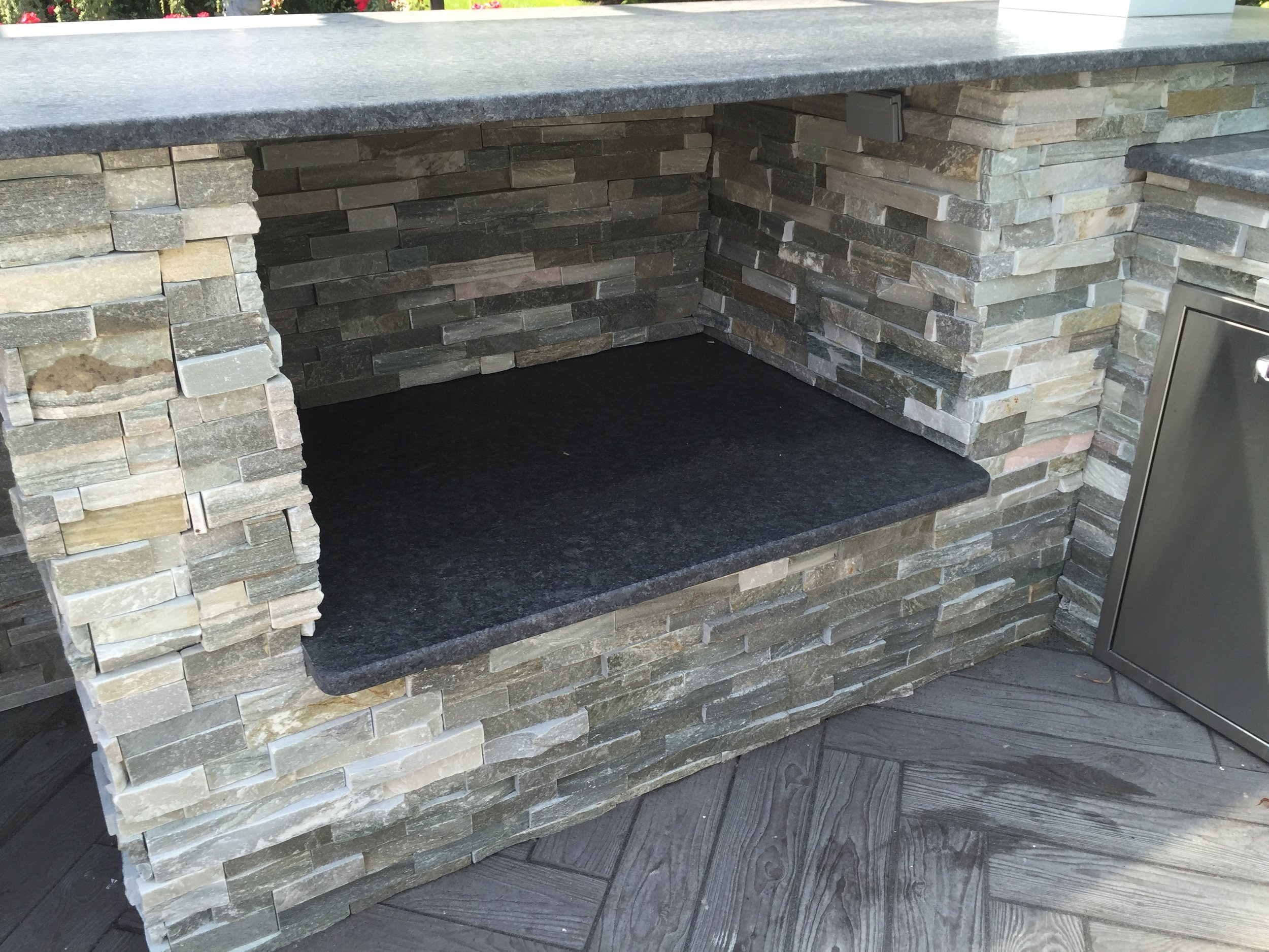Outdoor kitchen design in Long island, NY