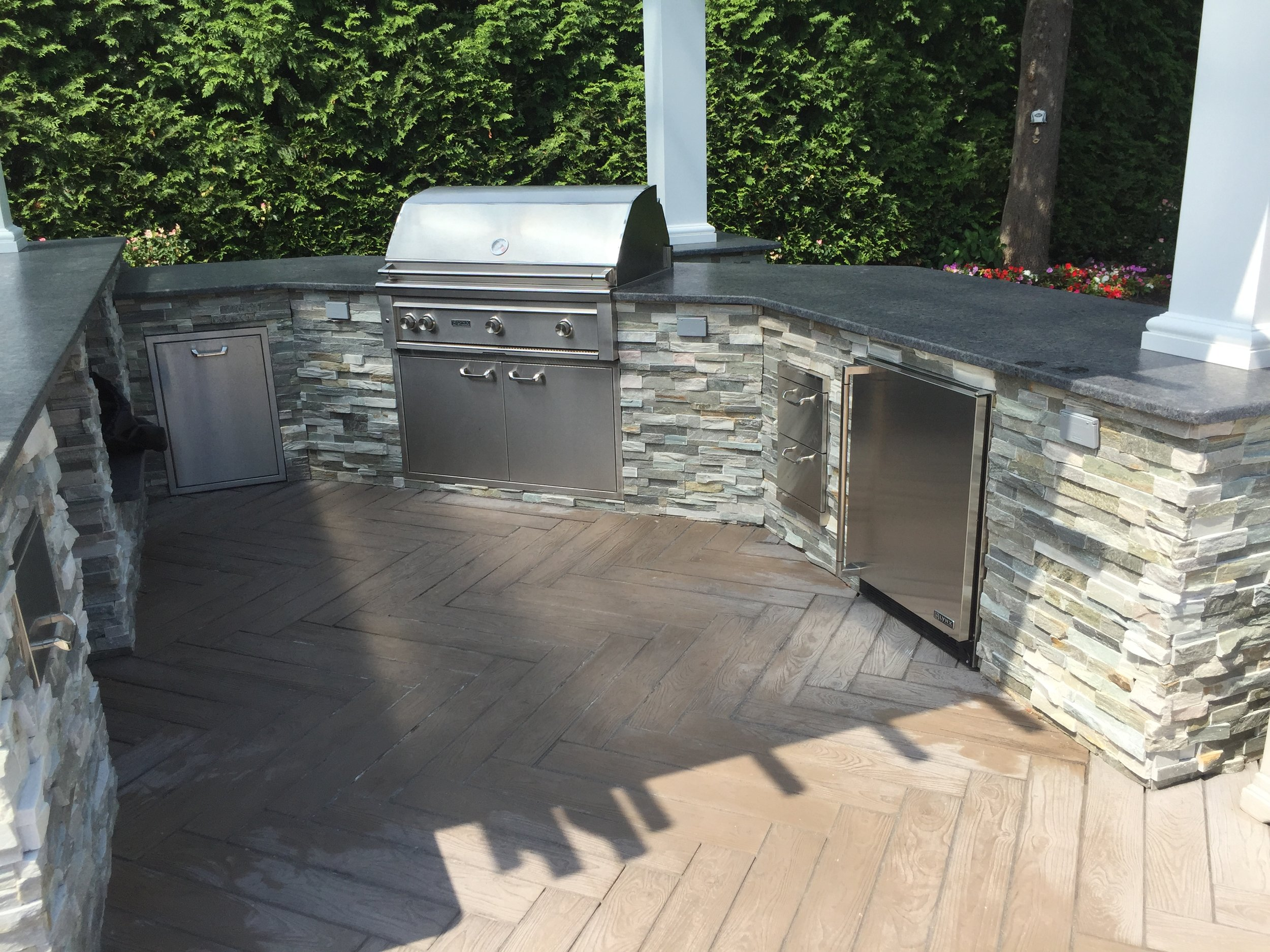 Professional outdoor kitchen design company in Long Island, NY