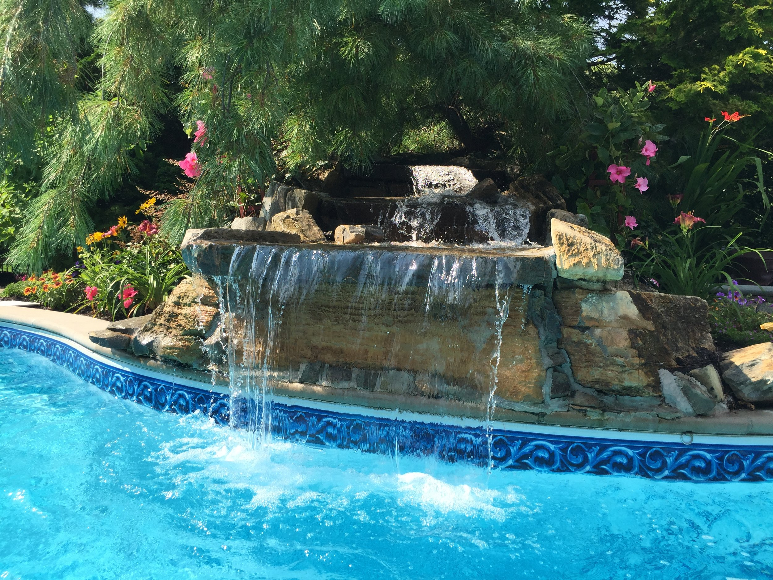 Top water feature landscape design company in Long Island, NY