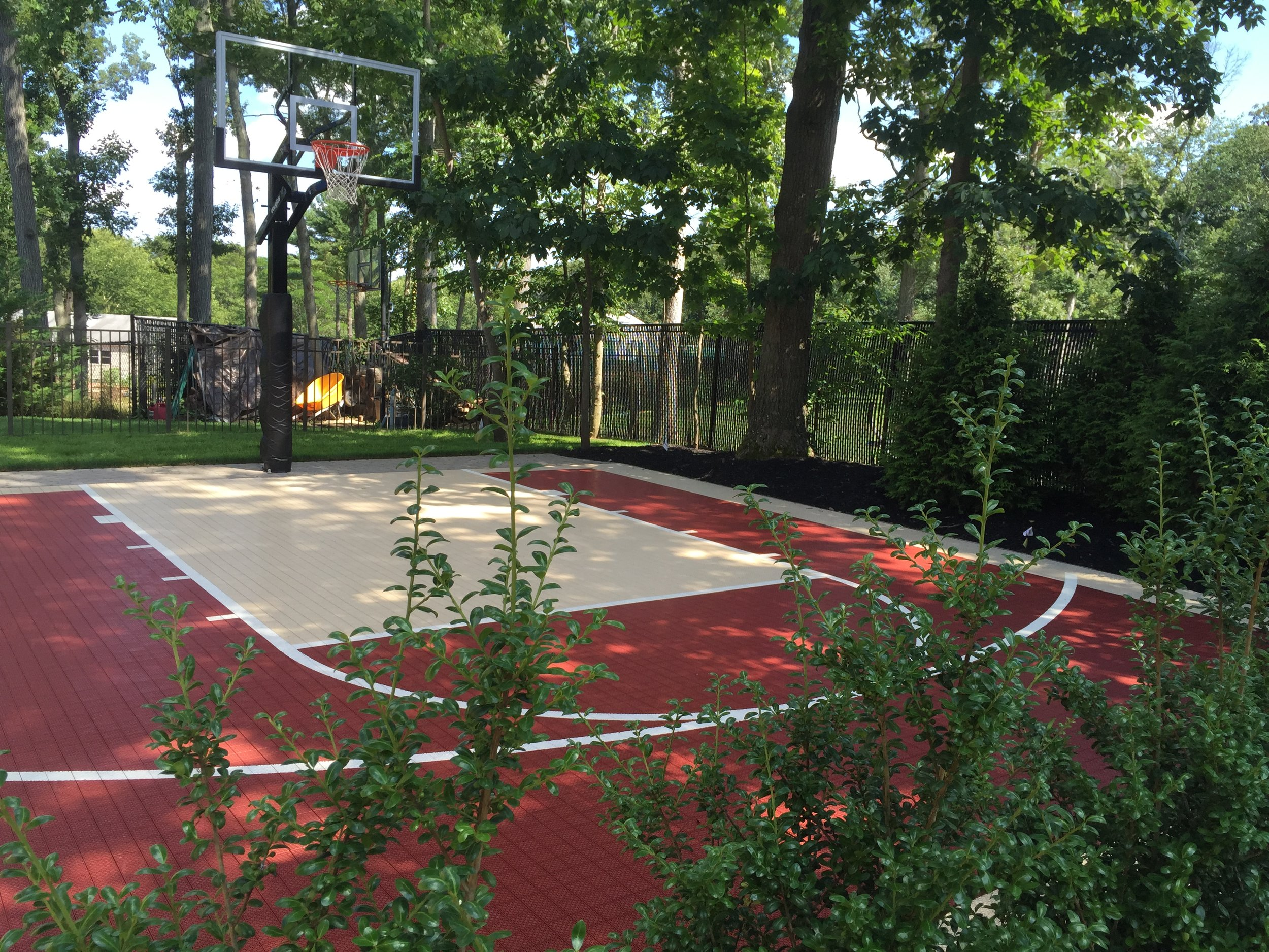 Experienced basketball court landscape design in Long Island, NY