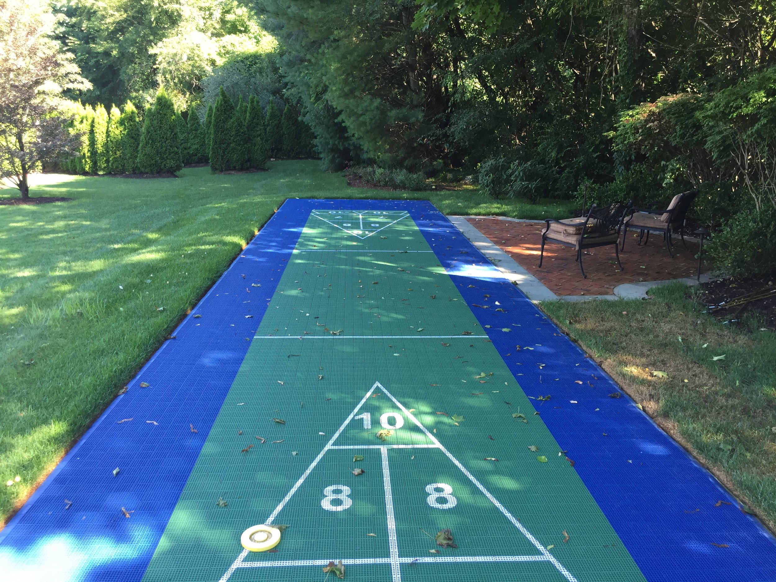 Professional bocce ball landscape design in Long Island, NY