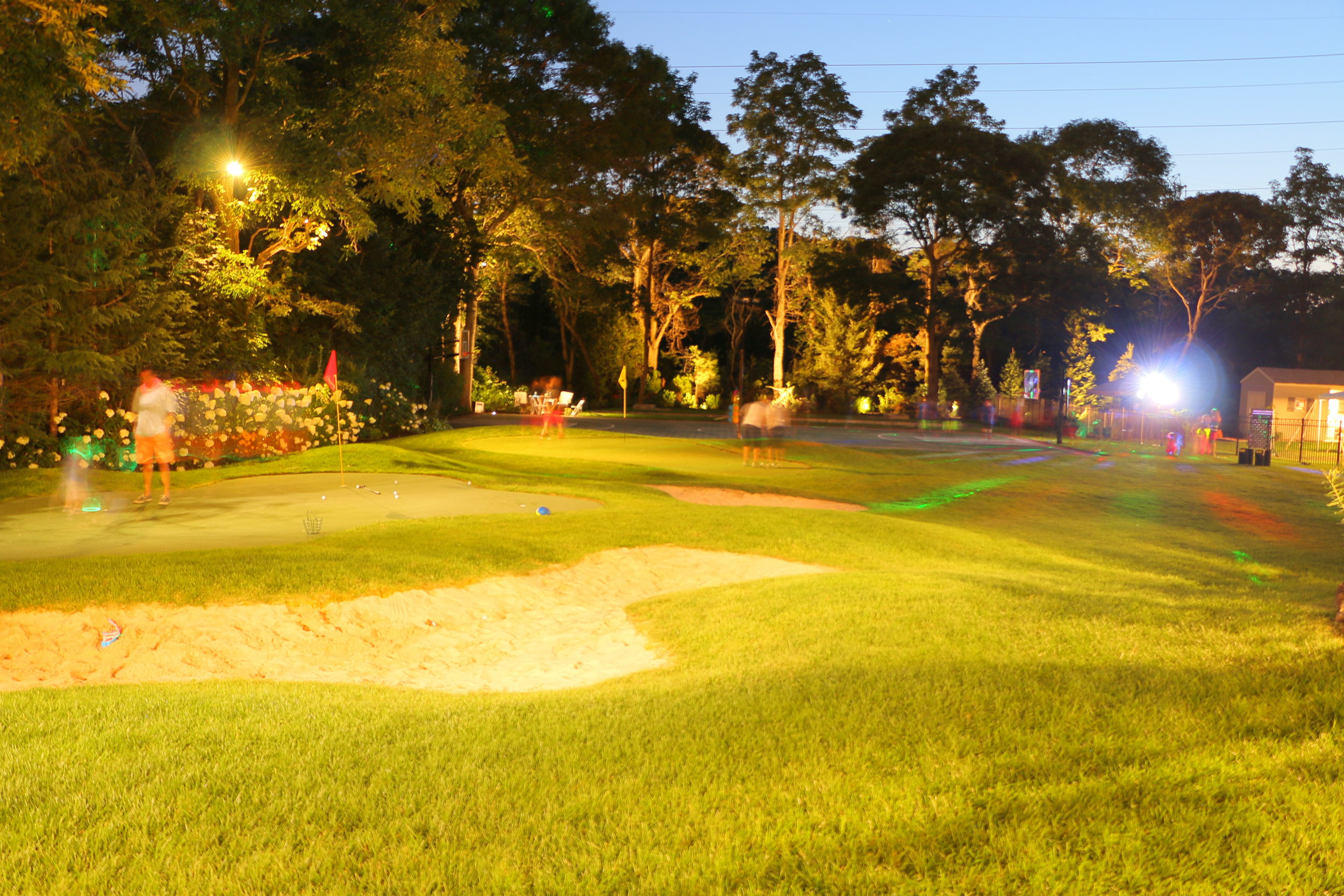 Top landscape design with golf course in Long Island, NY