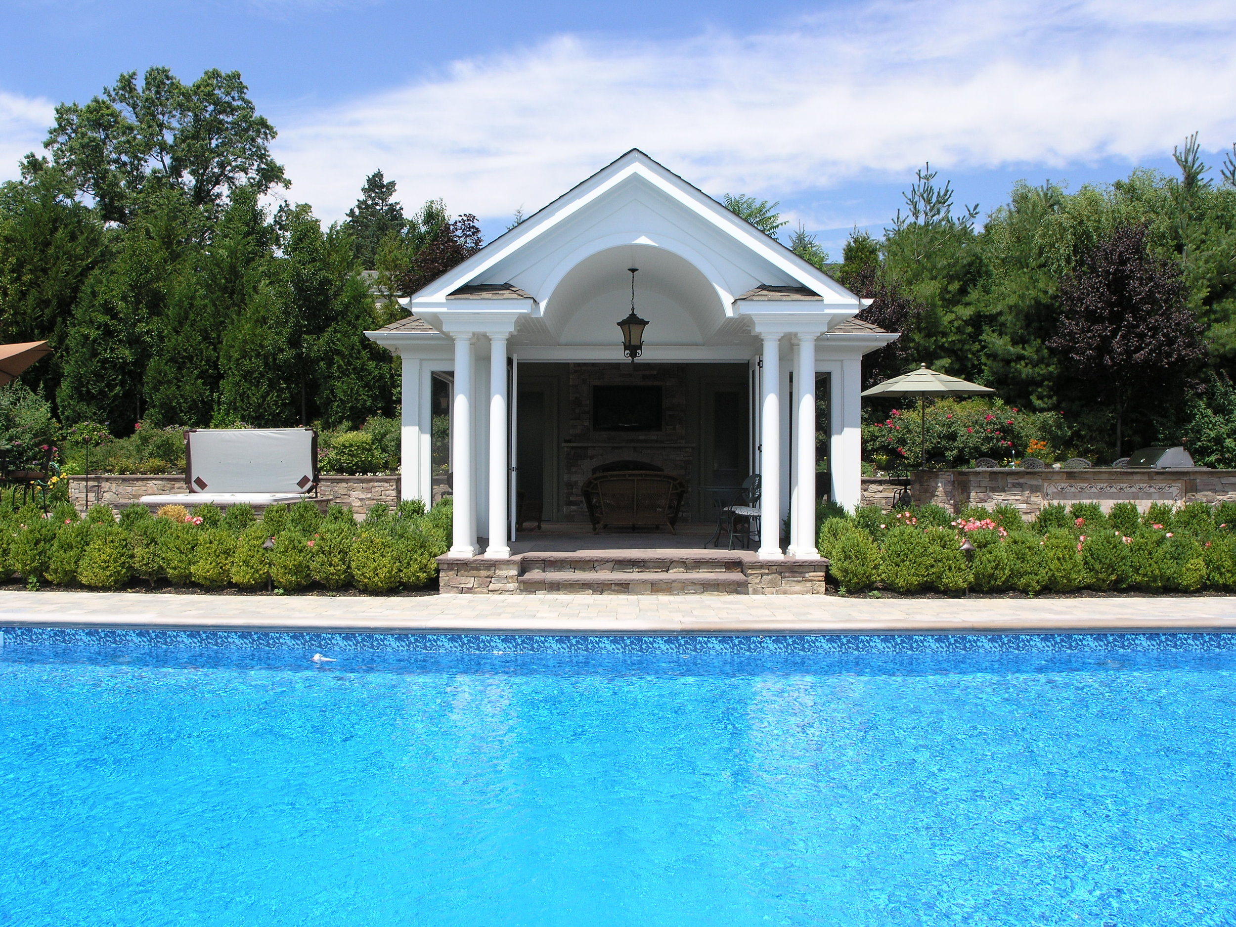 Professional landscape cabana design company in Long Island, NY