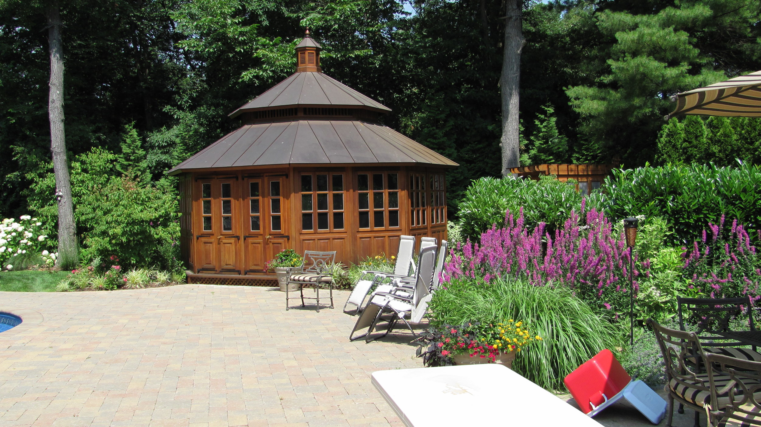 Professional pool cabana design company in Long Island, NY