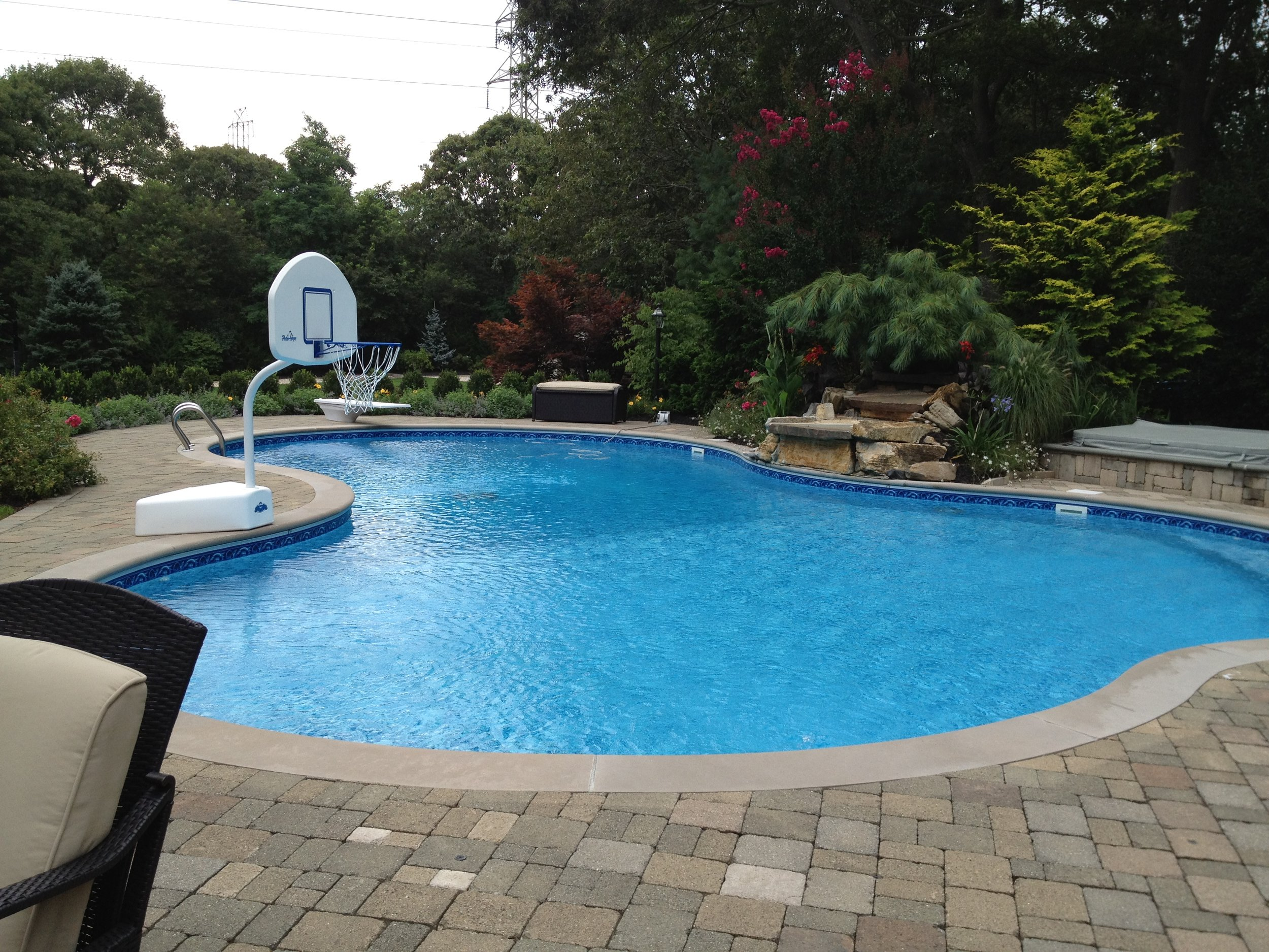 Professional pool patio landscape design company in Long Island, NY