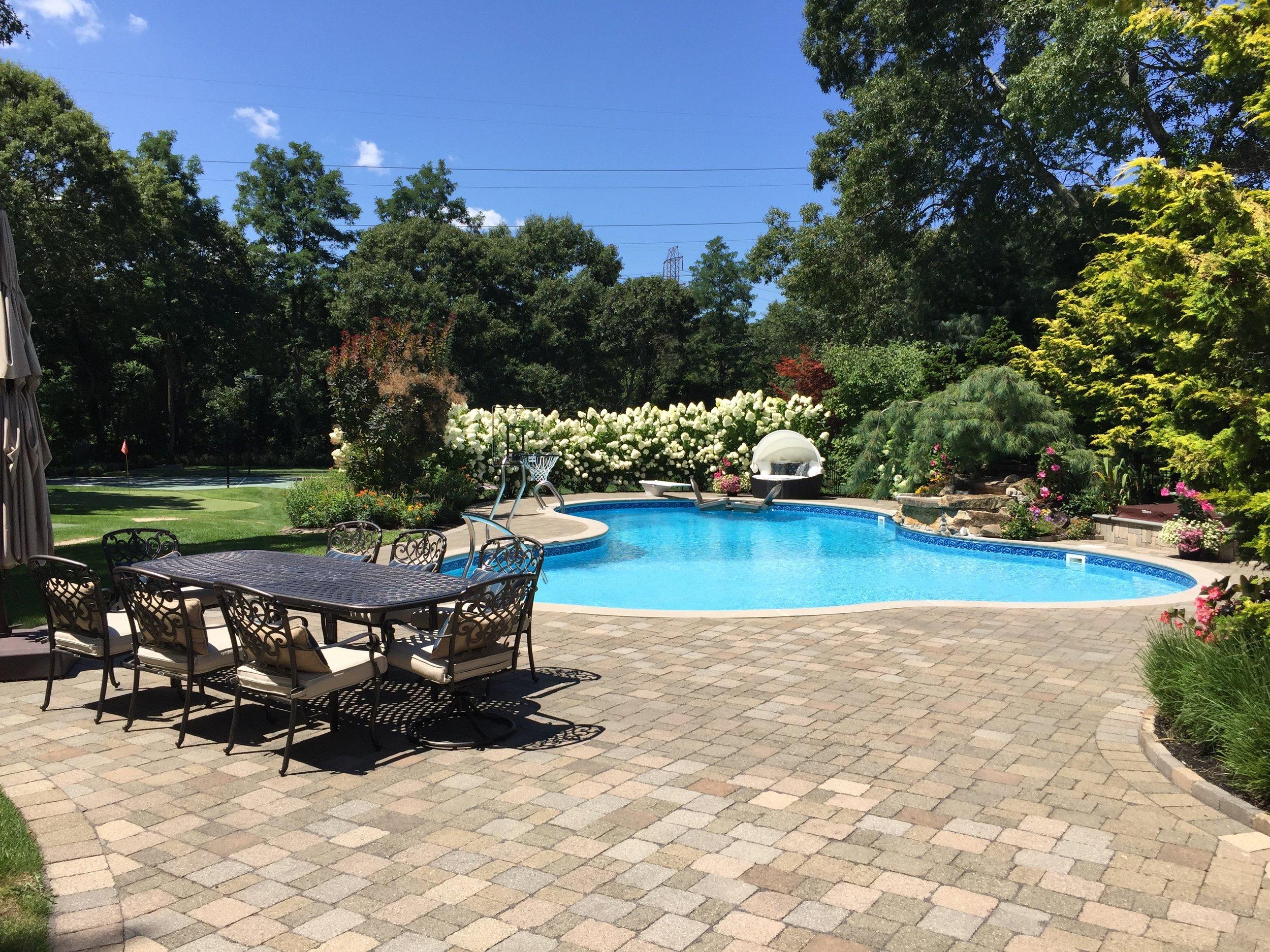 Professional pool patio paver company in Long Island, NY