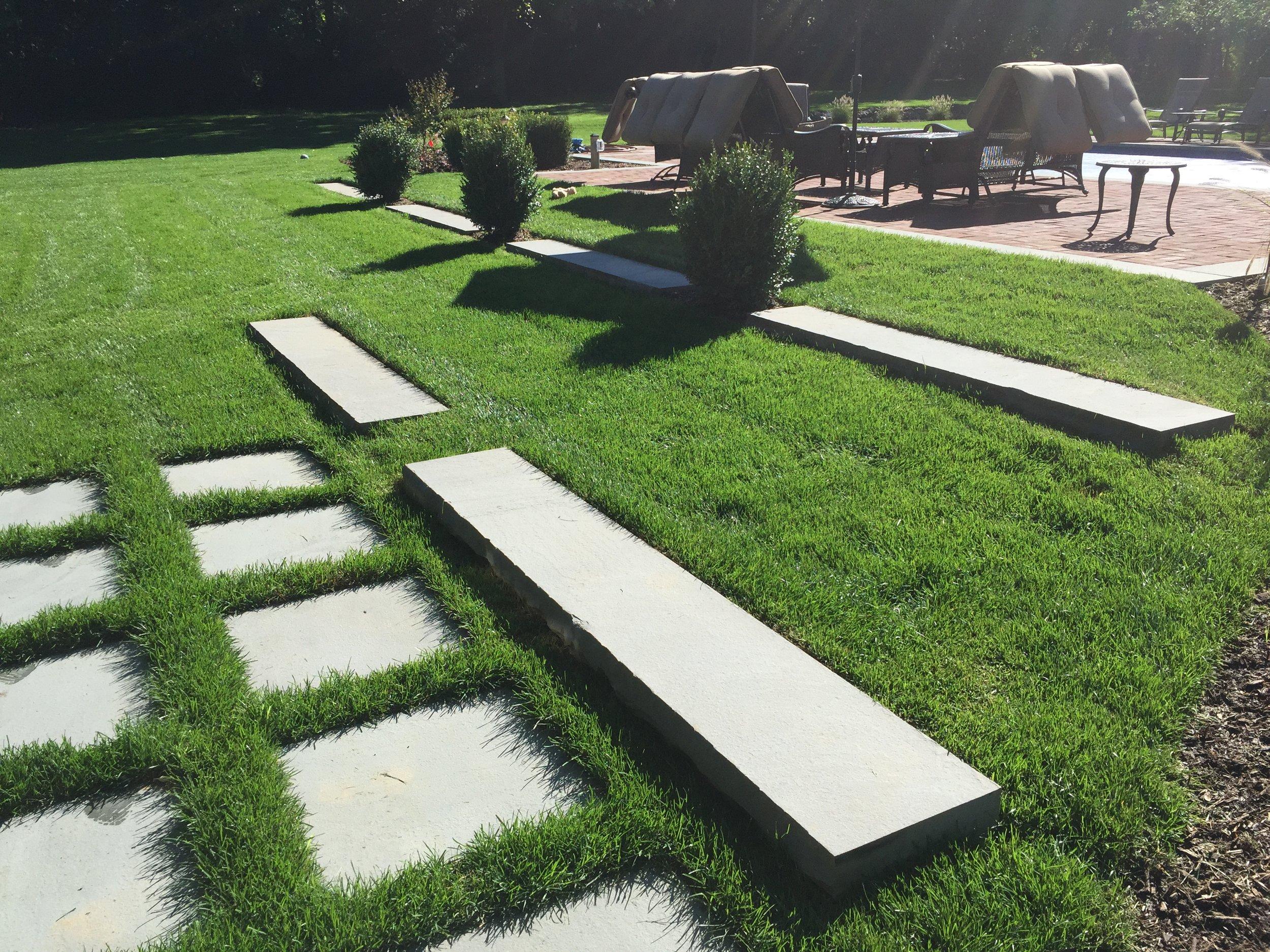 Professional walkway landscape design company in Long Island, NY