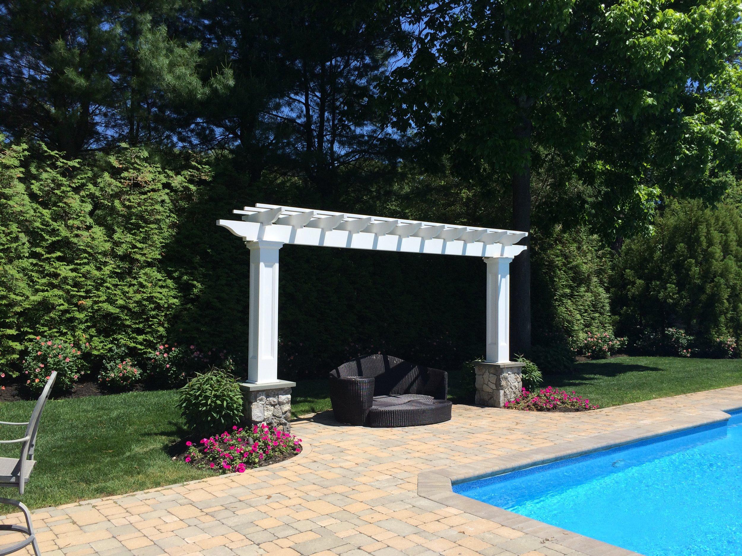 Professional cabana landscape design company in Long Island, NY