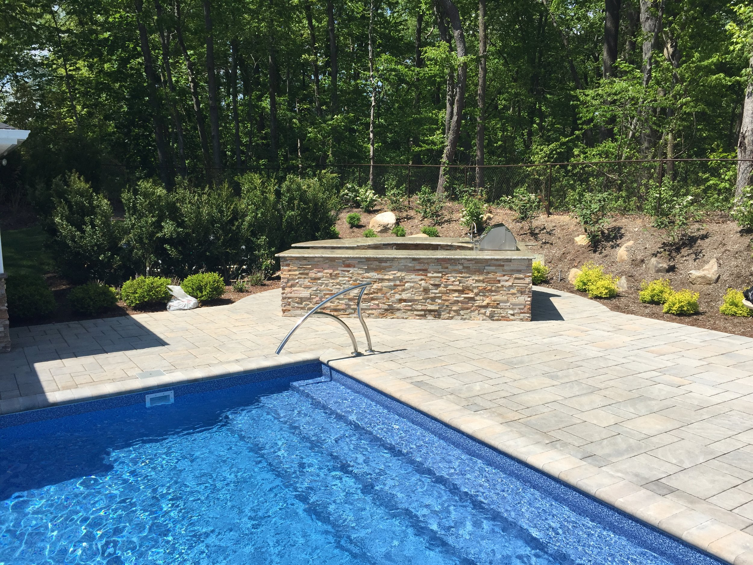 Professional pool patio landscapedesign company in Long Island, NY