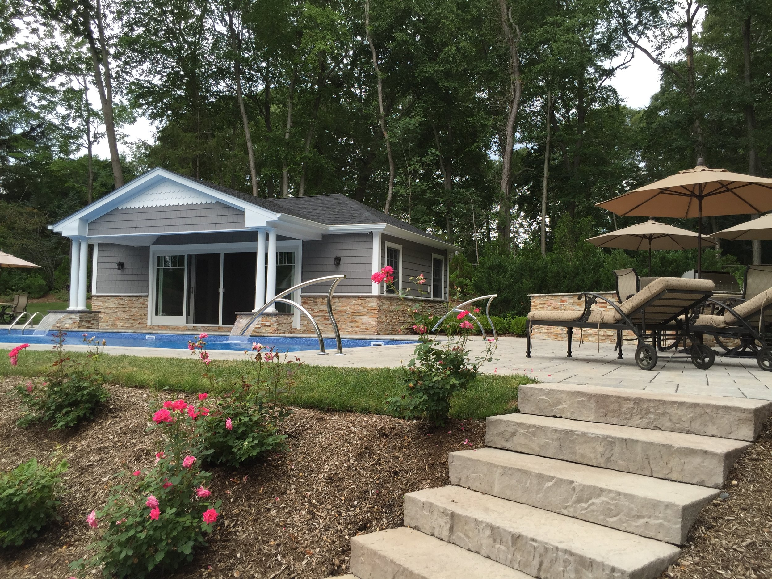 Professional pool landscapedesign company in Long Island, NY