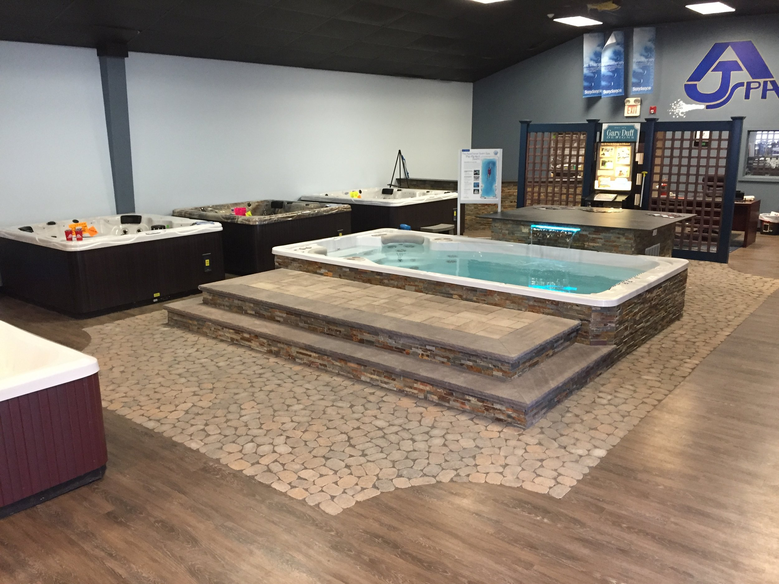 Professional spa indoor design in Long Island, NY