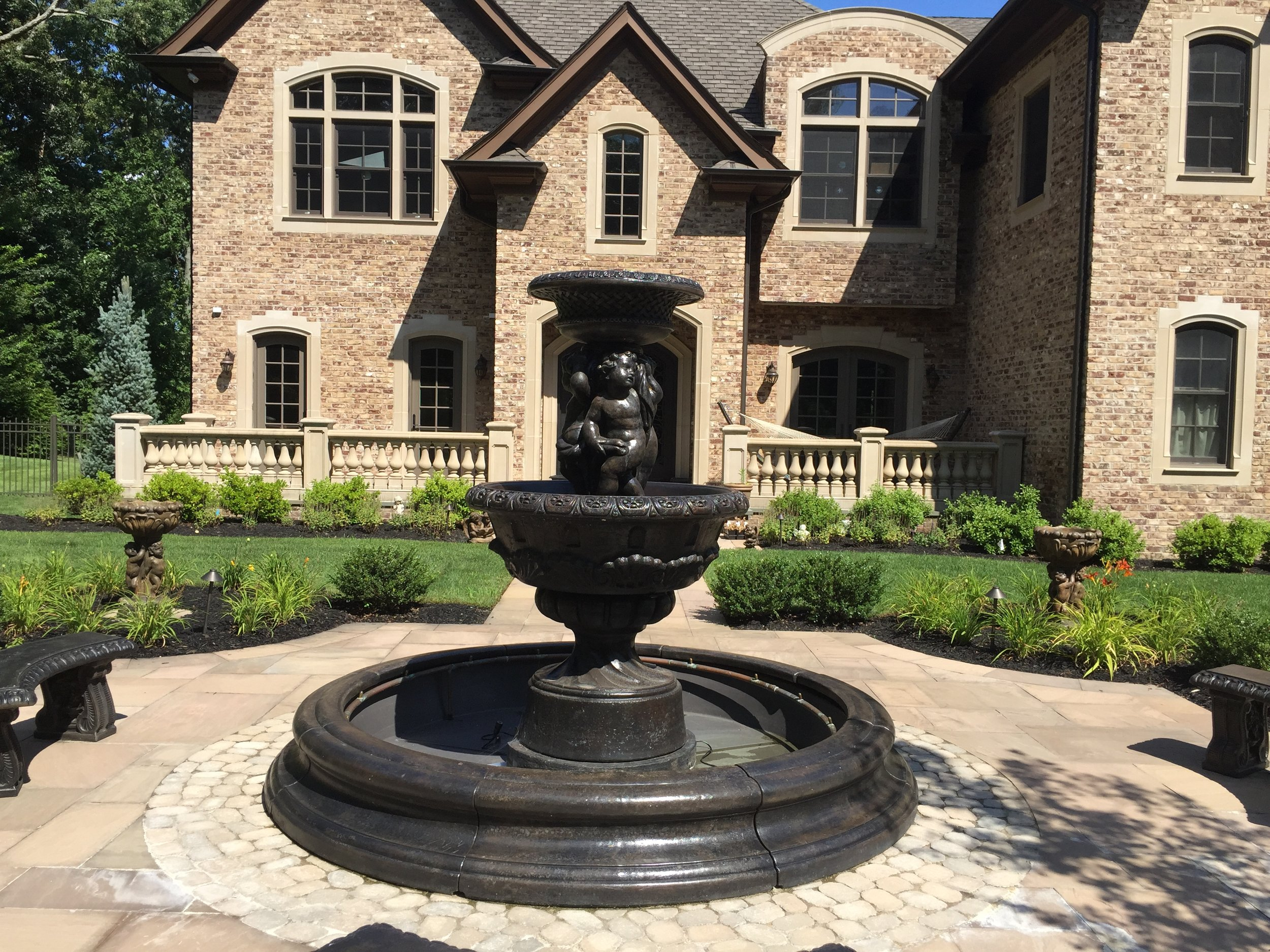 Professional water fountain design company in Long Island, NY