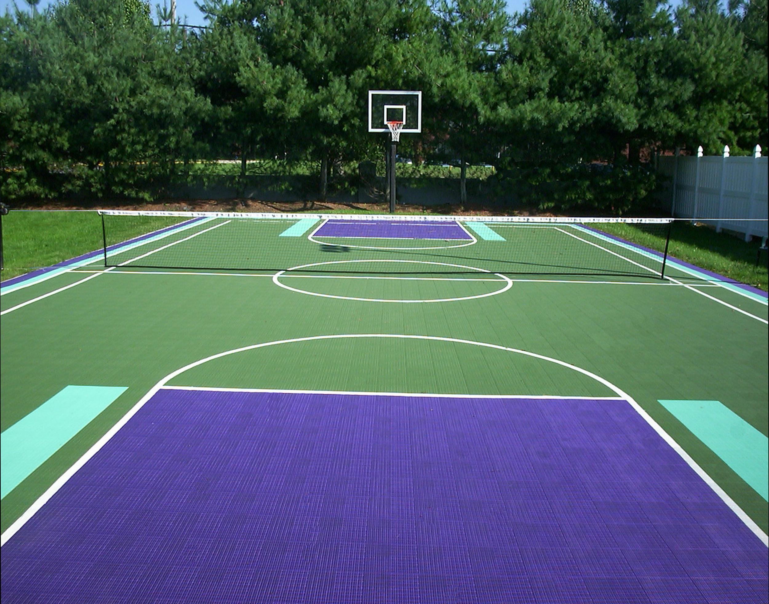 Basketball court installation company in Long Island, NY