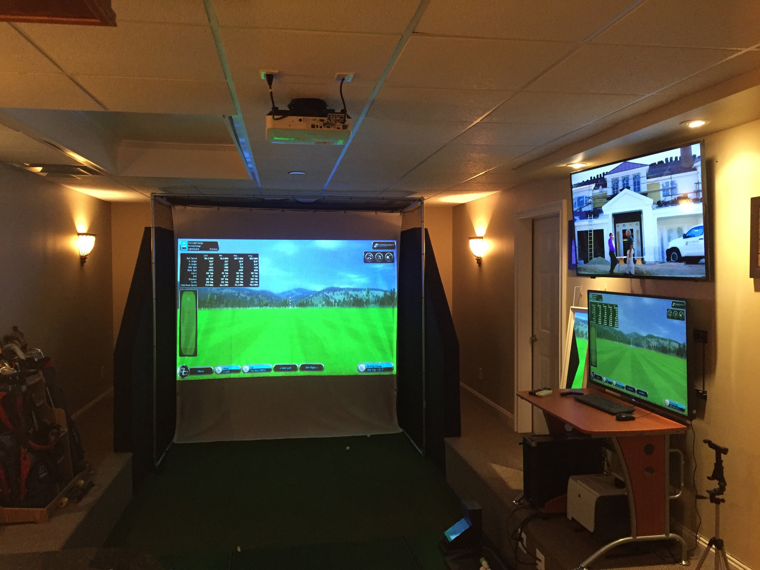 Top indoor golf course design in Long Island, NY