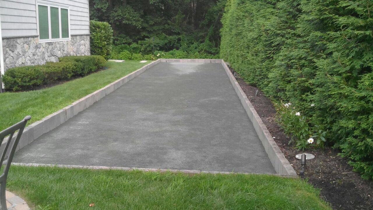 Professional bocce ball landscape designer in Long Island, NY