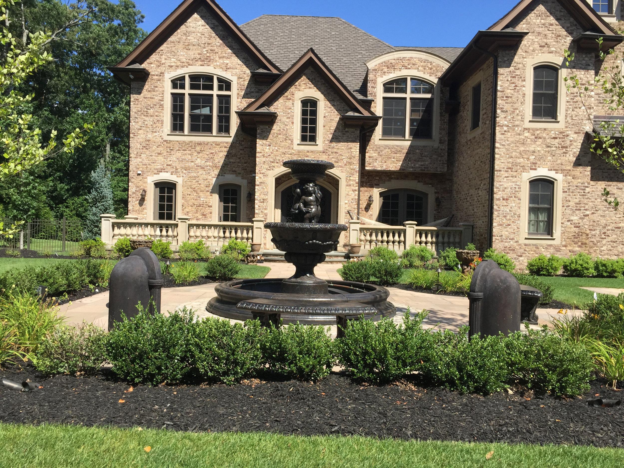 Top front entrance landscape design company in Landscape design with plantings in Long Island, NY