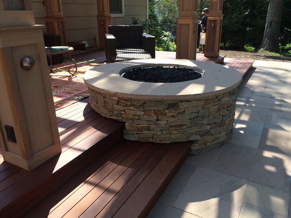 Outdoor Fireplace vs Fire Pit for Your Setauket NY Backyard