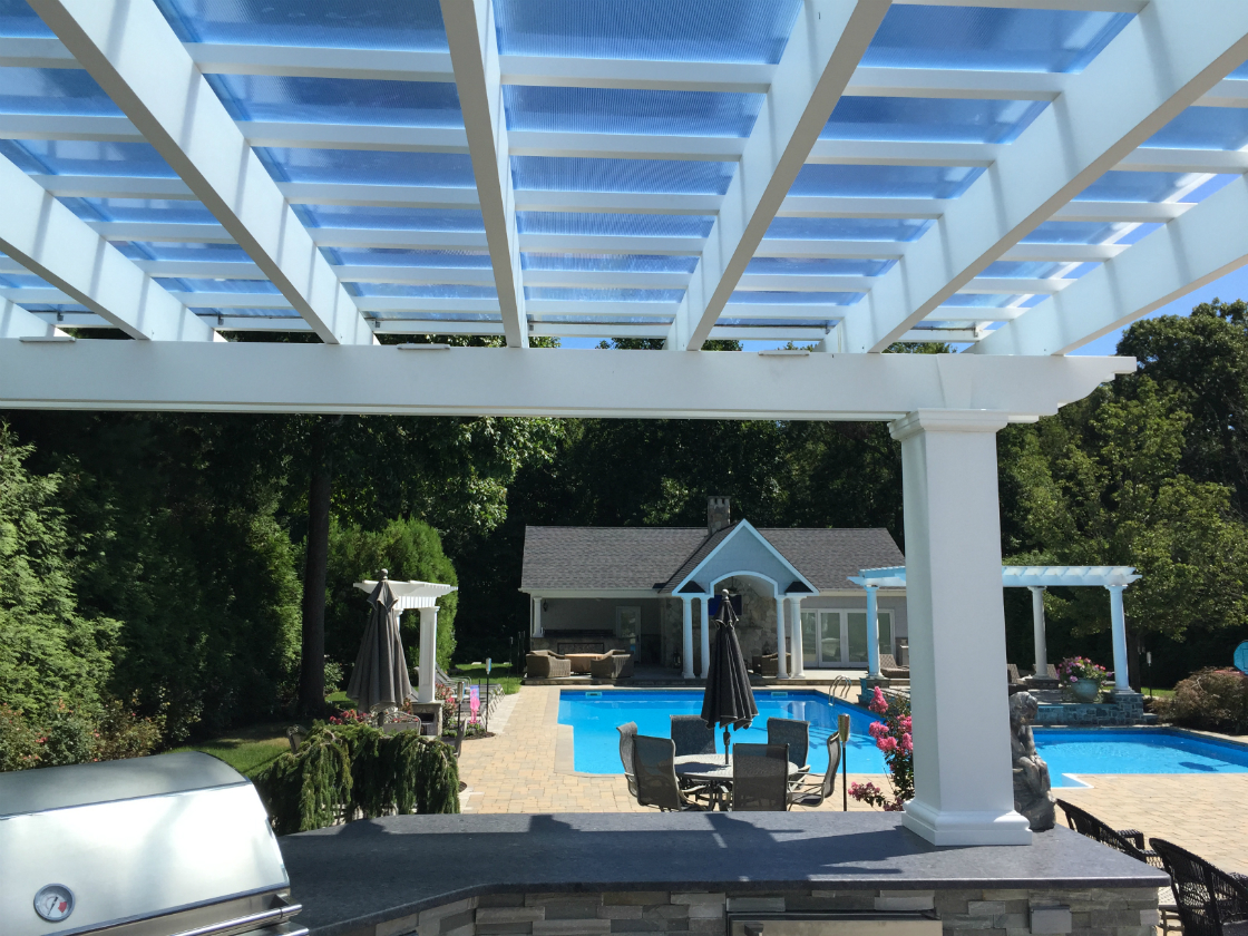 Using your Pergola for Keeping Warm During these Colder Months in Holbrook, NY