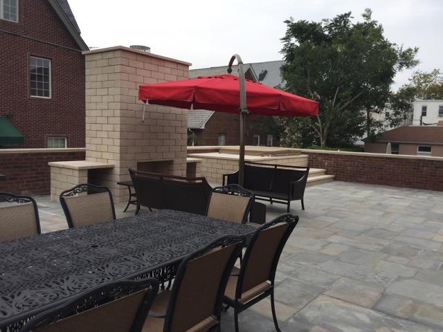 Masonry patio designs in Holbrook, NY