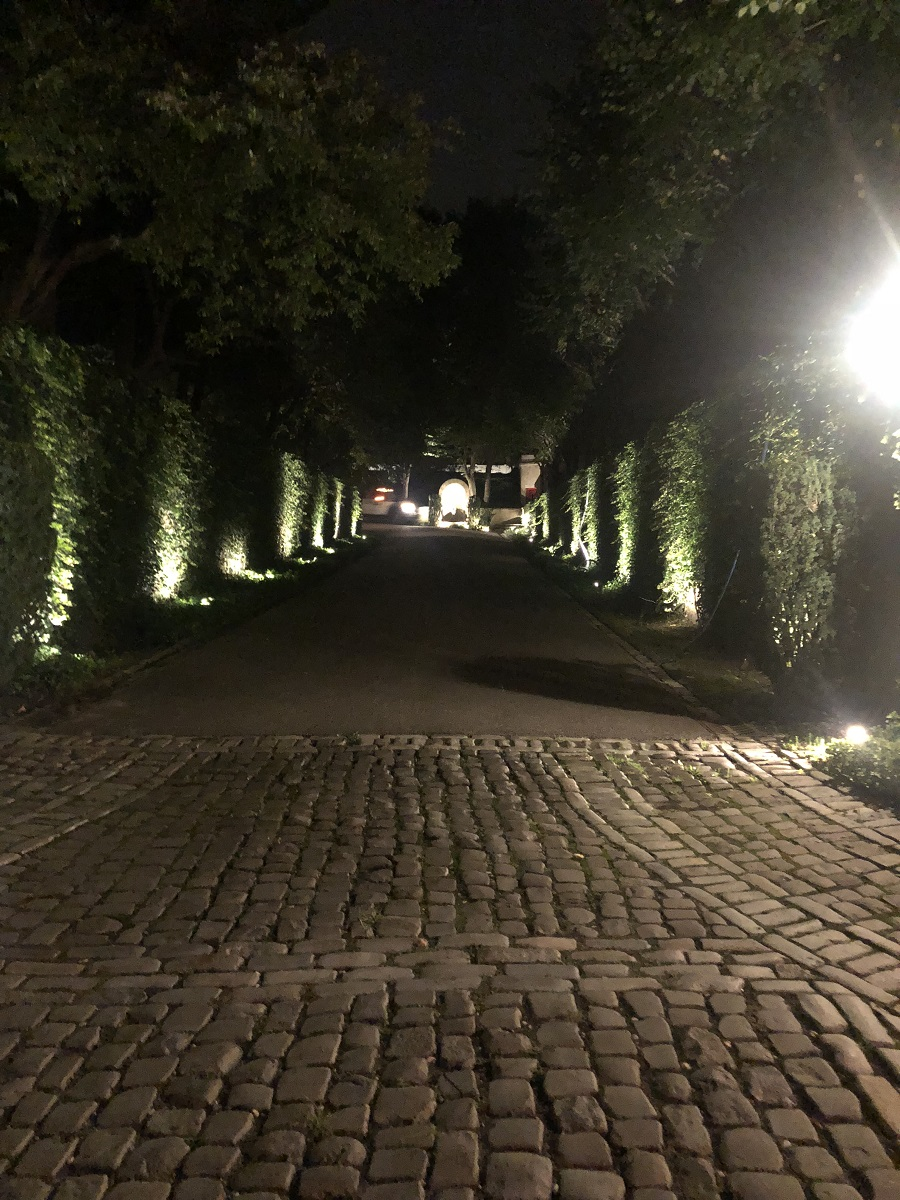Plantings, driveway and outdoor lighting in Old Westbury NY