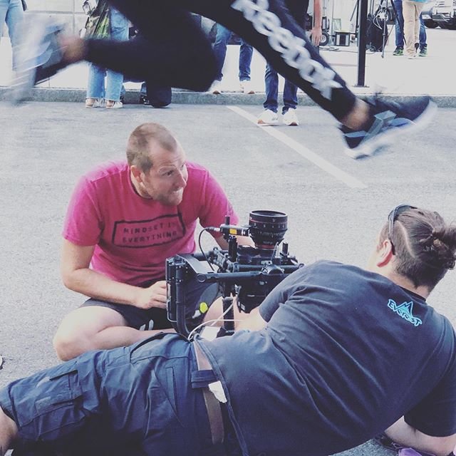 Fun shoot with Reebok and @jjmillerphotography yesterday. . . . . #production #productioncompany #advertising #running #redcamera #reddigitalcinema #setlife #composition #cinematography #director #commercialshoot #behindthescenes