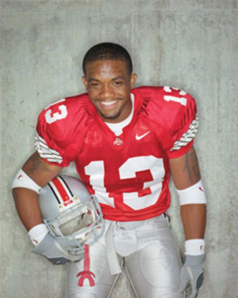 Maurice Clarett, 2002 Ohio State National Champion, and Freshman of the year.