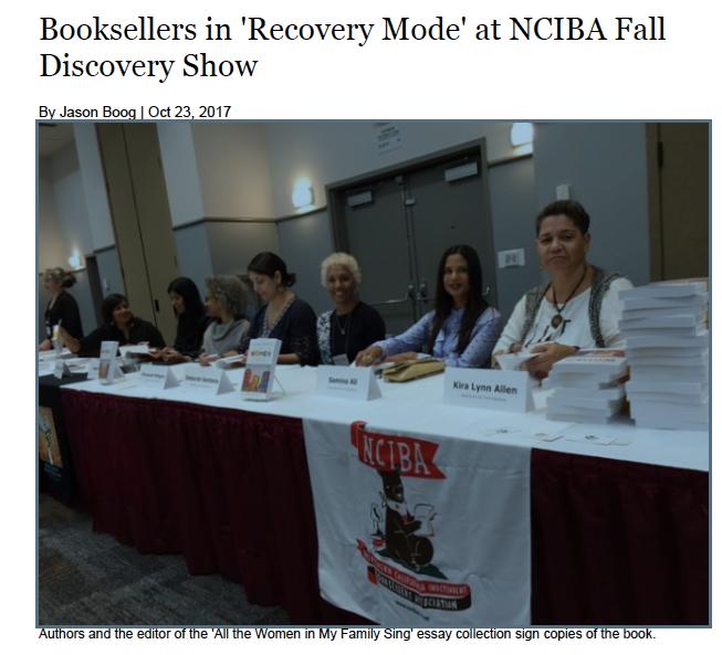 ~~ photo:   Publishers Weekly