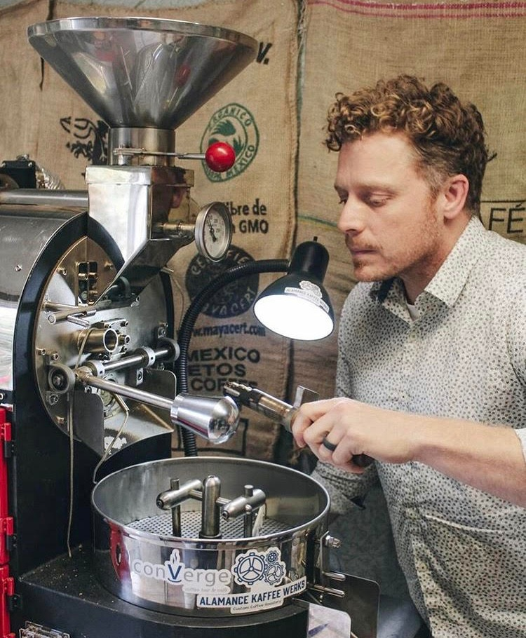 Daniel Krenzer - Owner/Head RoasterAfter visiting Thailand and Costa Rica, Daniel became enthralled with how different coffee was around the world.  He, also, got to experience how necessary it was in every culture around the world. After seeing how coffee creates community and a culture, Daniel realized he wanted to be a part of that. He loves exploring coffee from different regions, and being a part of the coffee chain.