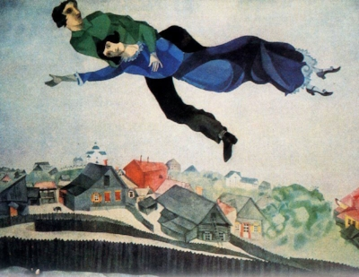 """Over the Town,"" M. Chagall"