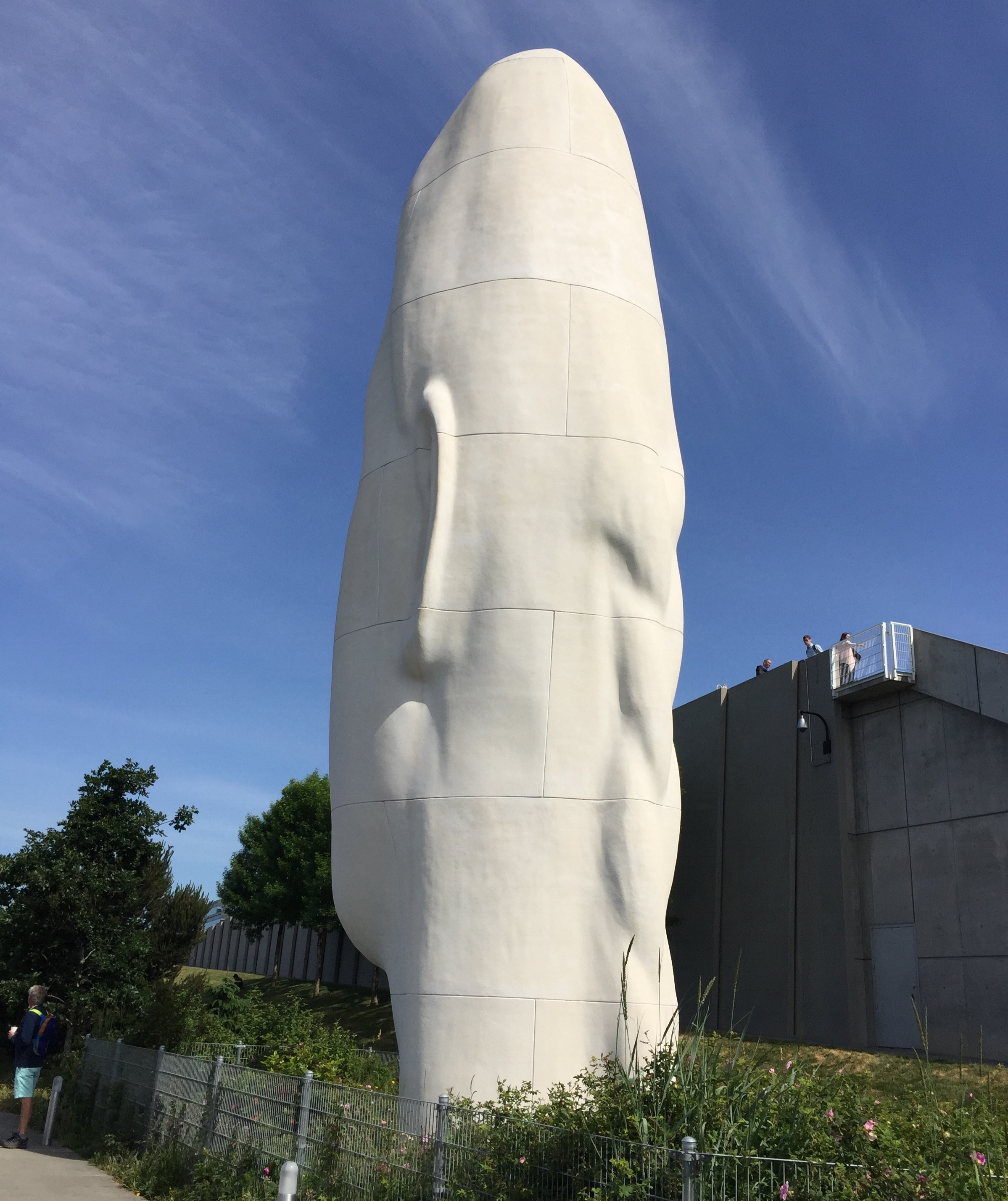 """Echo,"" by Jaume Plensa, Olympic Sculpture Park, Seattle"