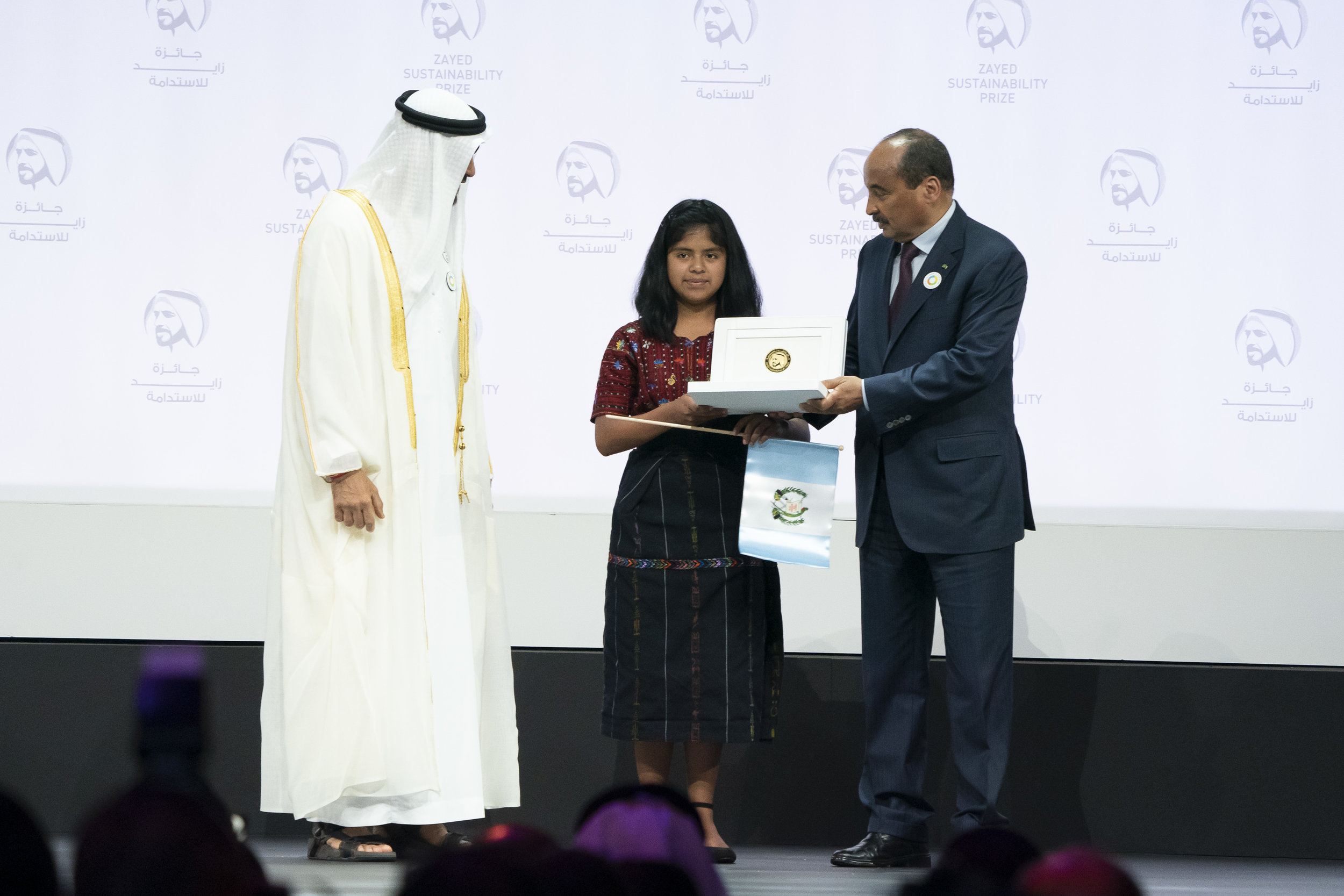 Foto: Zayed Sustainability Prize 2019