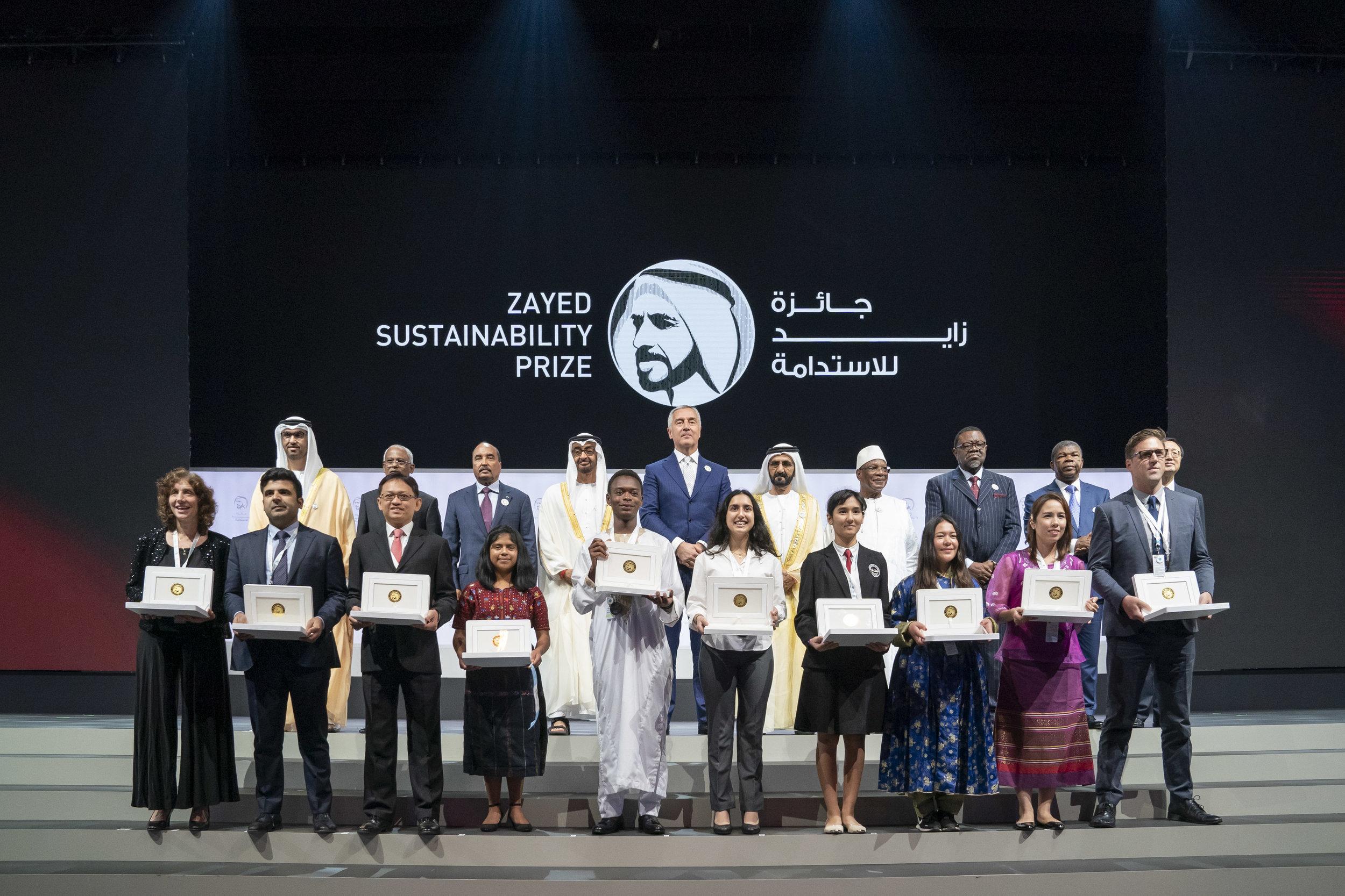 Foto: Zayed Sustainability Prize 2019