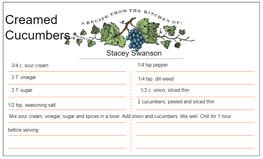 Creamed Cucumber Recipe.PNG