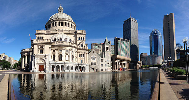 The first church of christ, scientist, boston, MA.