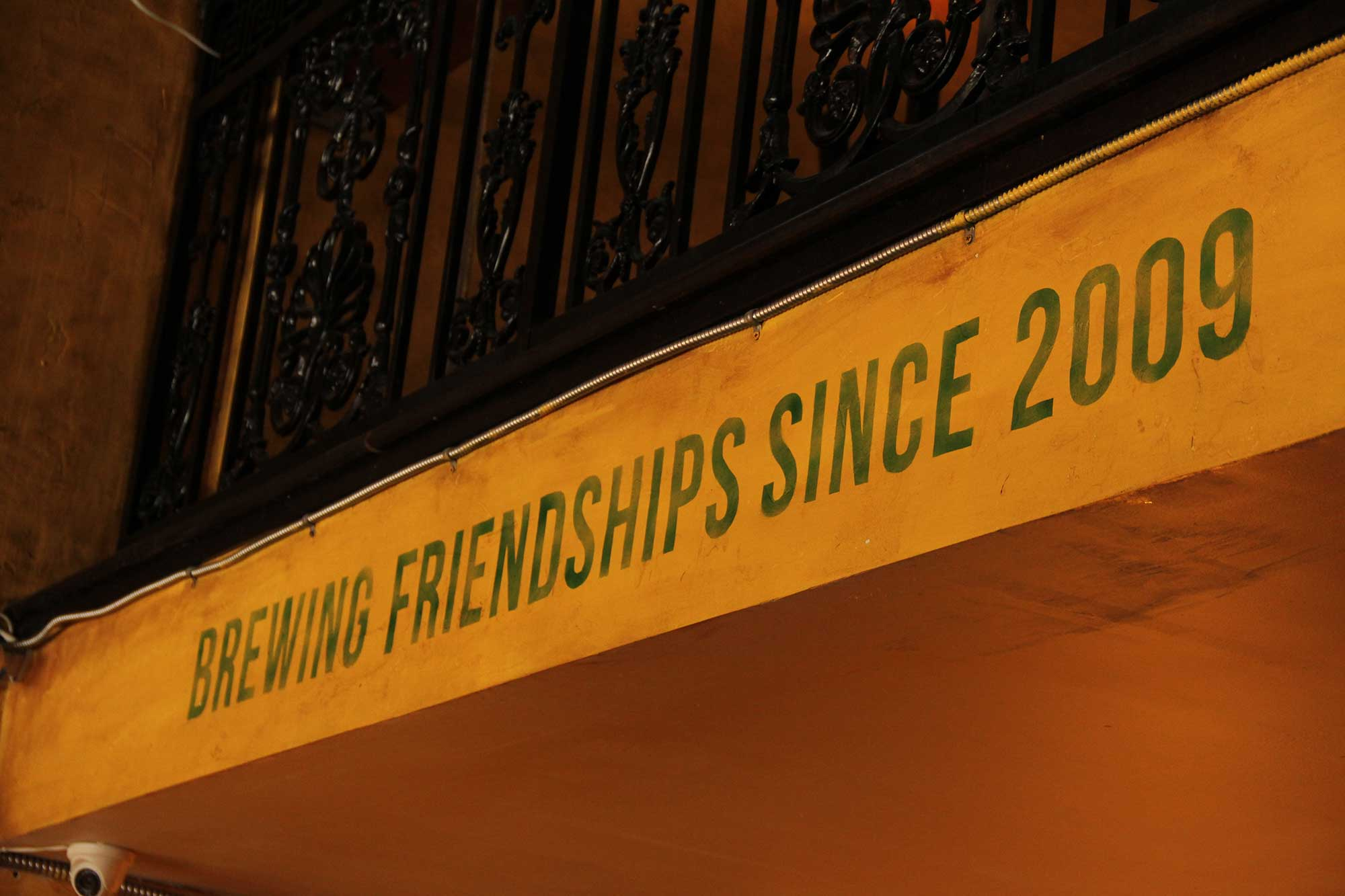 Brewing friendships