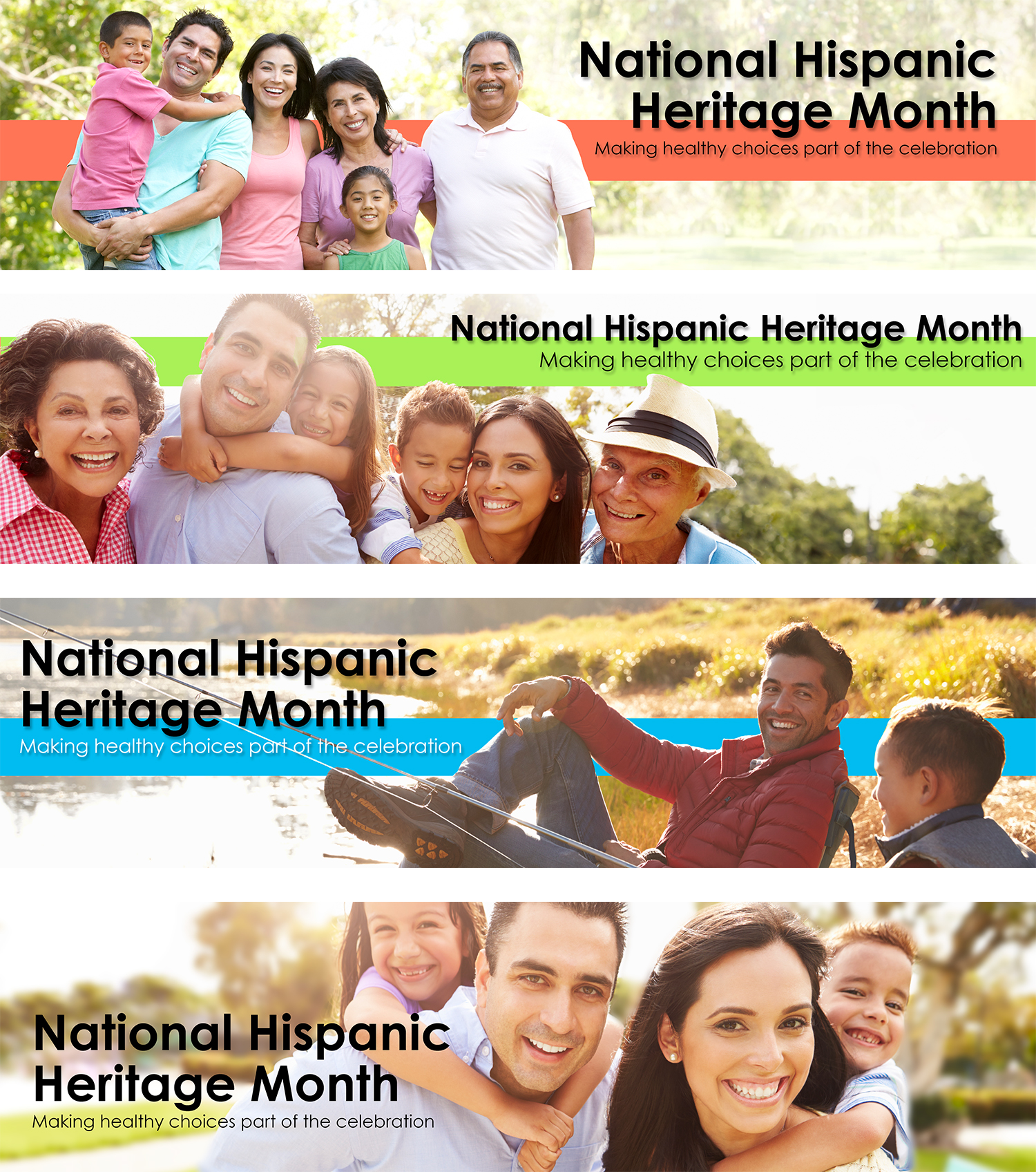 National Hispanic Heritage Month webbanners