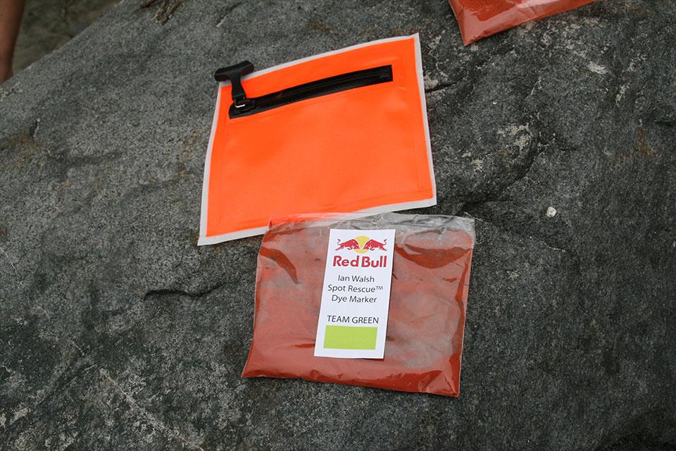 Prototype Spot Rescue™ dye marker
