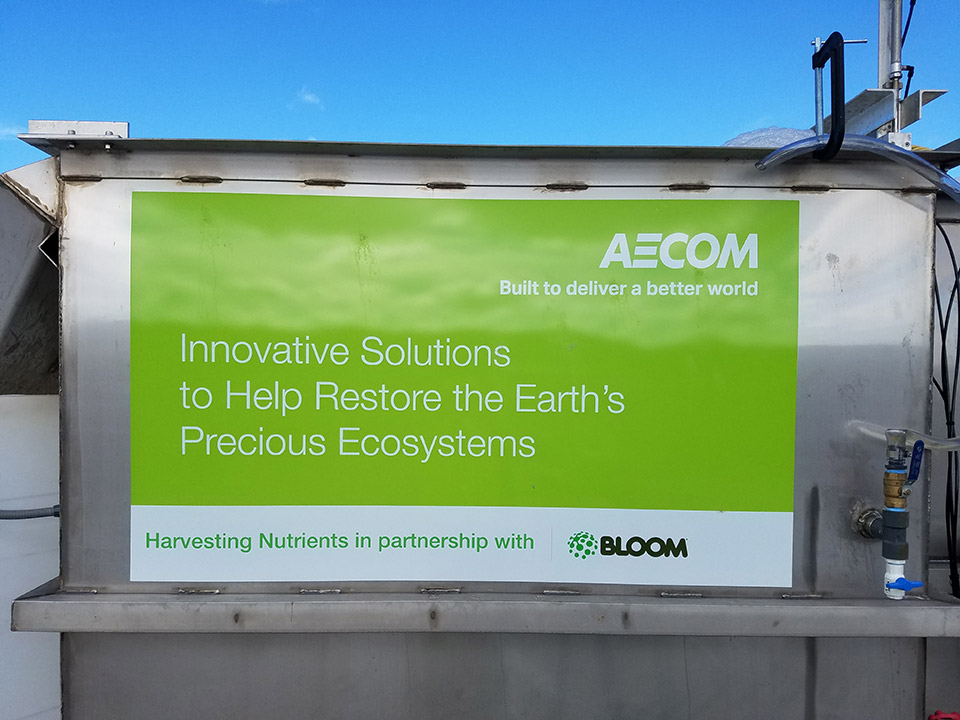 AECOM + BLOOM partnership for cleaning waterways on a global scale