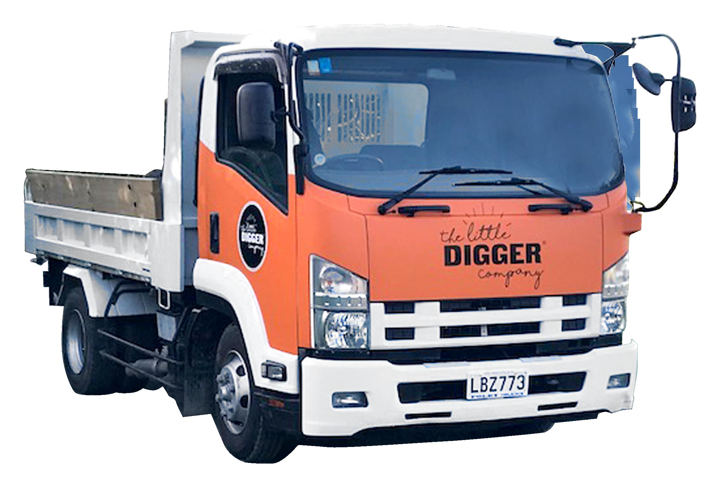Small truck, 4 Tonne Tip Truck Hire from Puhoi, Warkworth, Matakana to Mangawhai.jpeg