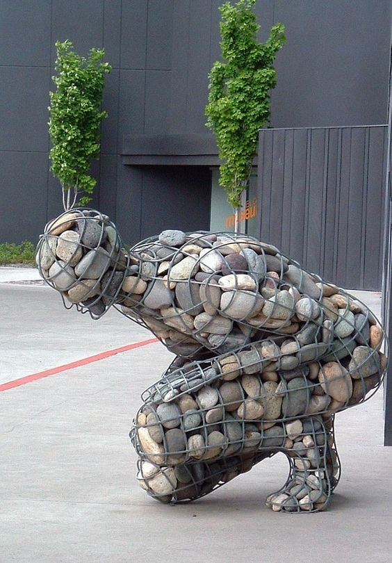 Sculptural feature  Image via  HERE