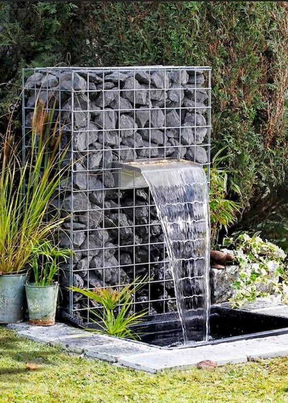 Water Feature  Image via  HERE
