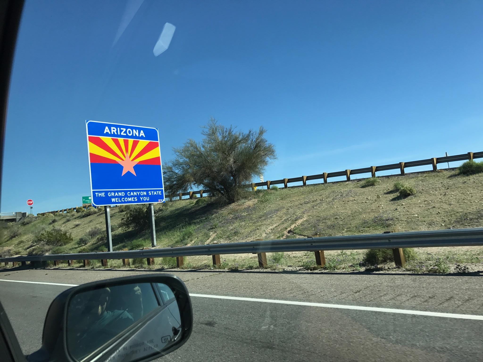 Hi Arizona!