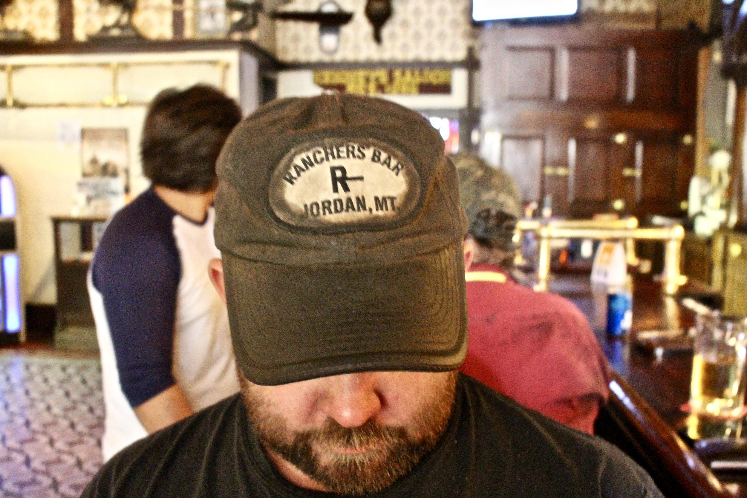 Scott's hat proudly boasts his hometown