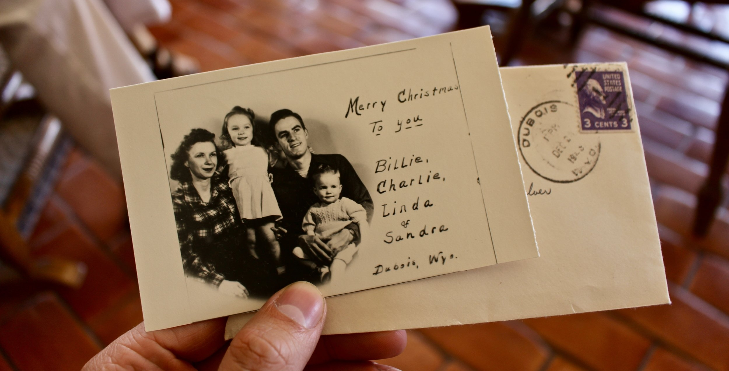 A Christmas card from an earlier time